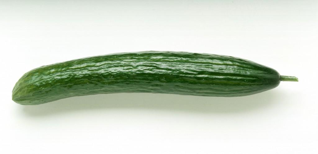 Eine Salatgurke