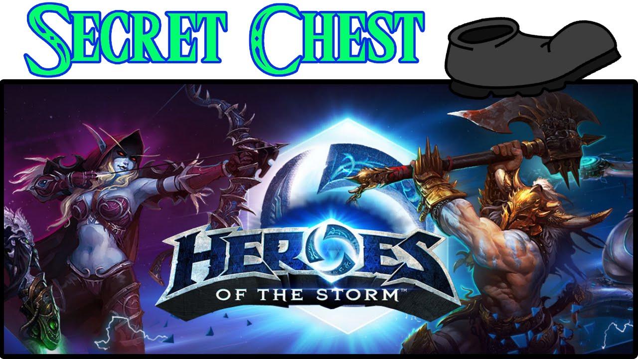 Heroes of the Storm Thumbnail Secret Chest På Sparket
