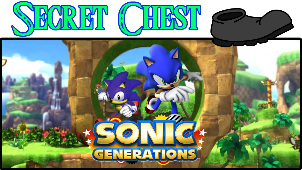 Sonic Generations Thumbnail Secret Chest På Sparket