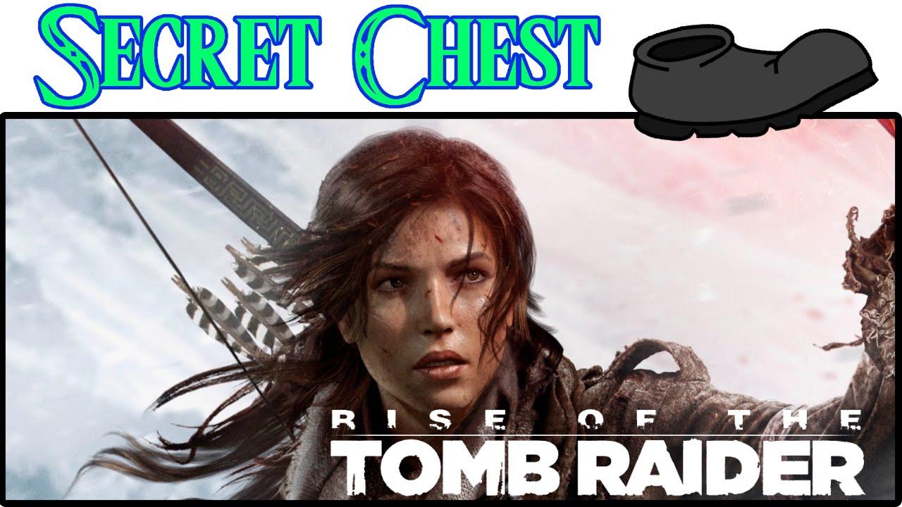 Rise of the Tomb Raider Thumbnail Secret Chest På Sparket